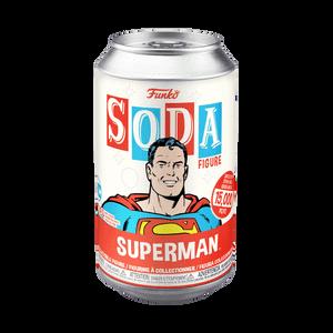 DC Comics Superman Vinyl Soda Figure in Collector Can