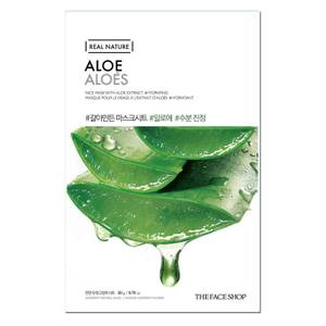 THE FACE SHOP Real Nature Sheet Mask Aloe