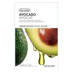 THE FACE SHOP Real Nature Sheet Mask Avocado