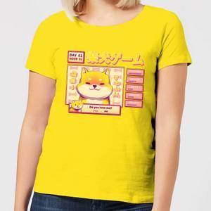Ilustrata Shiba Novel Women's T-Shirt - Yellow