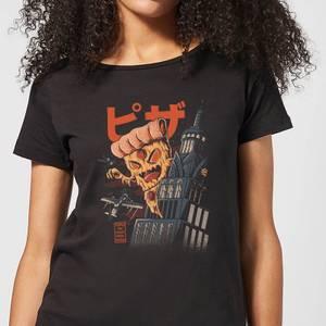 Ilustrata Pizza Kong Women's T-Shirt - Black