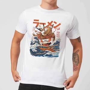 Ilustrata The Great Ramen Off Men's T-Shirt - White