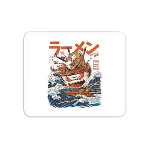 Ilustrata The Great Ramen Off Kanagawa Mouse Mat