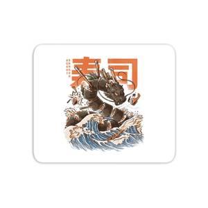 Ilustrata The Great Sushi Dragon Mouse Mat