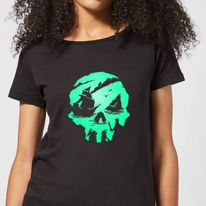 Sea Of Thieves 2nd Anniversary Skull Women's T-Shirt - Black