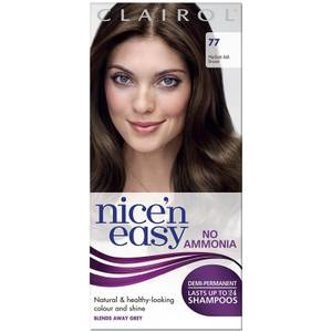 Clairol Nice'n Easy Semi-Permanent Hair Dye with No Ammonia (Various Shades)