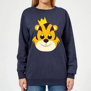 Tiger King Women's Sweatshirt - Navy