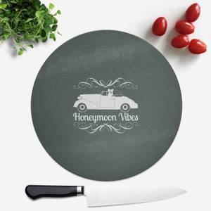 Honeymoon Vibes Round Chopping Board