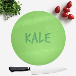 Kale Round Chopping Board