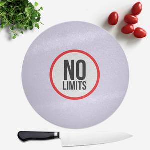 No Limits Round Chopping Board