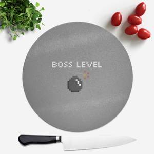 Boss Level Gaming Round Chopping Board