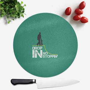 Drop In No Stoppin Round Chopping Board