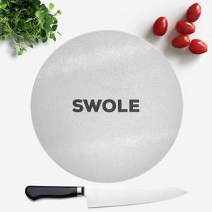 SWOLE Round Chopping Board