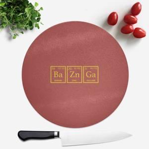 Ba Zn Ga Round Chopping Board