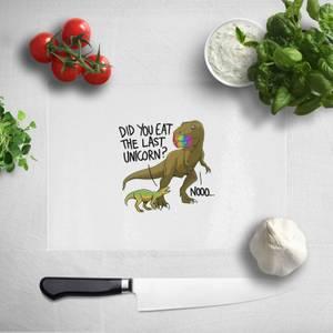 Did You Eat The Last Unicorn? Chopping Board