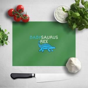 Babysaurus Rex Chopping Board