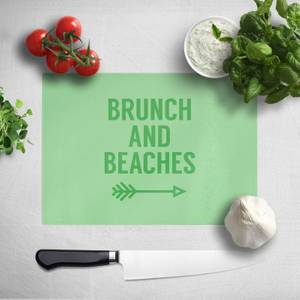 Brunch And Beaches Chopping Board