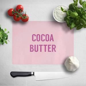 Cocoa Butter Chopping Board