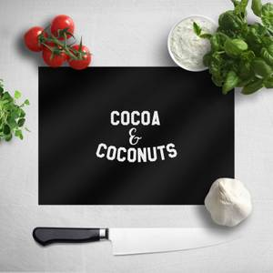 Cocoa And Coconuts Chopping Board