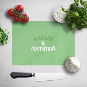 Avocado And Adventure Chopping Board