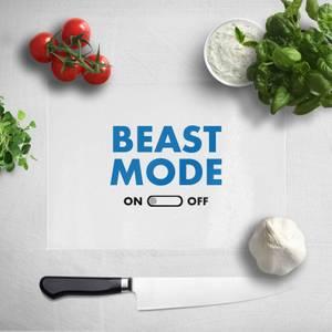 Beast Mode On Chopping Board