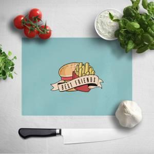 Fast Food Friends Chopping Board