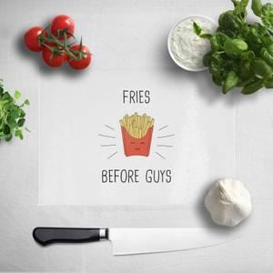 Fries Before Guys Chopping Board