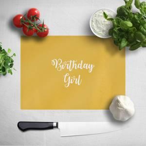 Birthday Girl Chopping Board