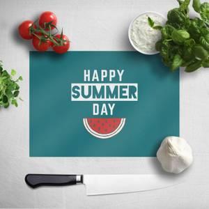 Happy SUmmer Day Chopping Board