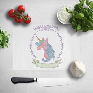 Time To Be A Unicorn Chopping Board
