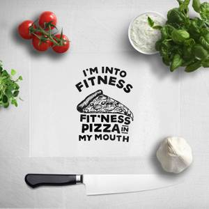 Fitness Pizza Chopping Board