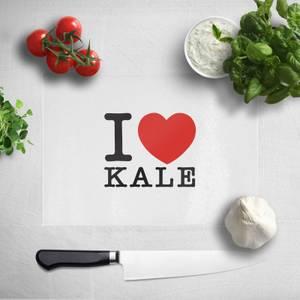 I Heart Kale Chopping Board