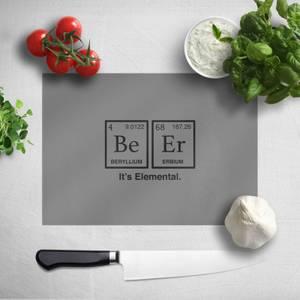 Be Er It's Elemental Chopping Board