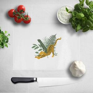 Pressed Flowers Morning Stretch Chopping Board