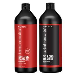 Matrix Total Results so Long Damage Shampoo and Conditioner Bundle 2 x 1000ml