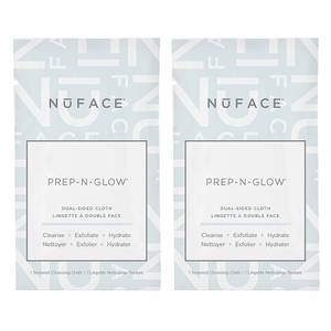 NuFACE Prep-N-Glow Cloths Duo