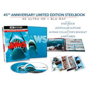 Exclusivité Zavvi : Steelbook Les Dents de la Mer - 4K Ultra HD Édition Collector (Blu-ray 2D Inclus)