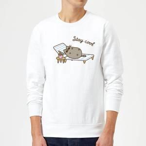 Pusheen Stay Cool Sweatshirt - White