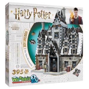 Harry Potter Hogsmeade The Three Broomsticks 3D Puzzle (395 Pieces)
