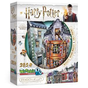 Diagon Alley Collection Weasley Wizards Wheezes 3D Puzzle (285 Pieces)