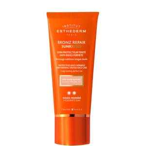 Institut Esthederm Bronz Repair Anti-Wrinkle Tinted Sun Face Protection 50ml