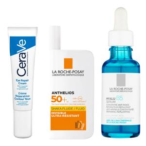 Daily Prep and Protect with Hyaluronic Acid and SPF Expert Skin Routine Bundle
