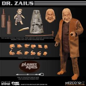 Mezco One:12 Collective Planet of the Apes (1968) Dr Zaius