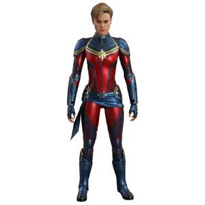 Hot Toys Marvel Avengers End Game Movie Masterpiece Acton Figure 1/6 Captain Marvel 29cm