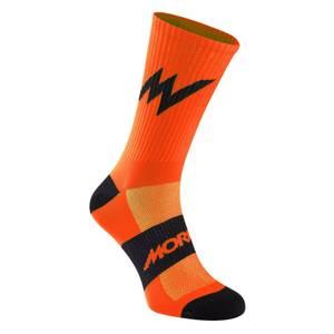 Morvelo Series Stripe Orange Socks