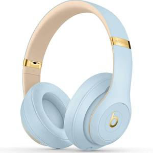 Beats By Dr. Dre Studio3 Bluetooth Wireless On-Ear Headphones - Crystal Blue