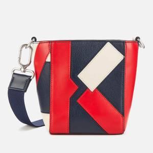 KENZO Women's Kube Tricolour Mini Tote Bag - Medium Red