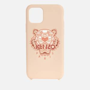 KENZO iPhone 11 Pro Silicone Tiger Phone Case - Pastel Pink