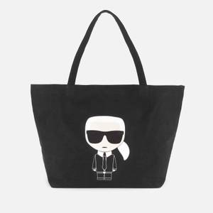 Karl Lagerfeld Women's K/Ikonik Karl Tote Bag - Black