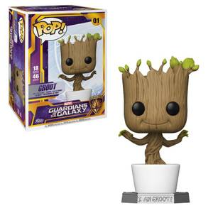 Figurine Funko Pop Supersized 45 cm Groot Dansant Les Gardiens de la Galaxie